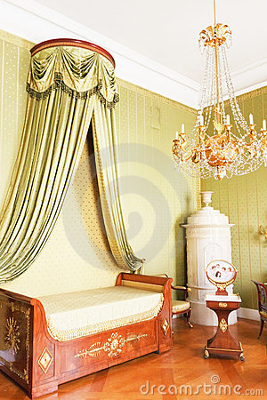 Bedroom with Royal canopy bed