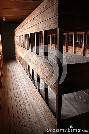 Beds at Dachau
