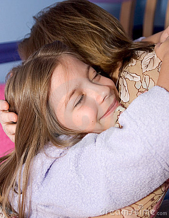 Free Bedtime Hug Stock Photo - 191200