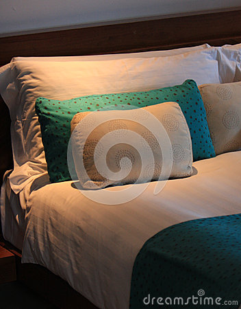 Free Bedtime In A Hotel Suite Stock Photo - 44516150