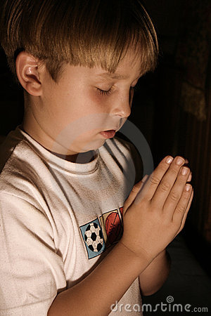 Free Bedtime Prayer Stock Photography - 30642