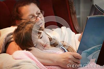 Bedtime Story with Grandma