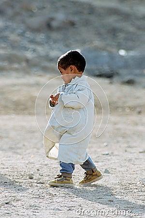 Beduin kid.