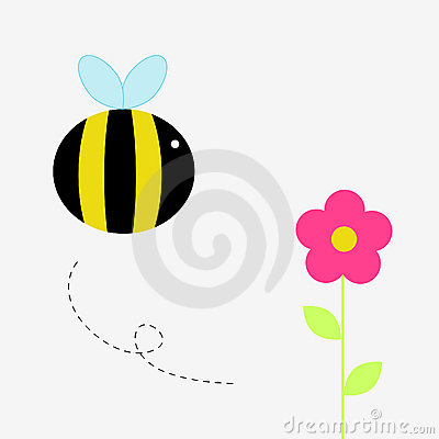 Free Bee Royalty Free Stock Image - 9910916