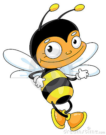 Bee for blank