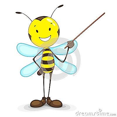 Bee giving Presentation