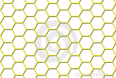 Bee Hive Background - Smaller Cells