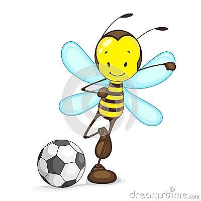 Serangga Bermain Bola Di Padang Ahahahah Mylinart