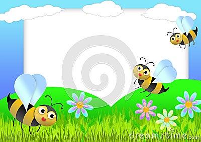 Bee scrapbook