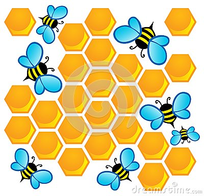 Bee theme image