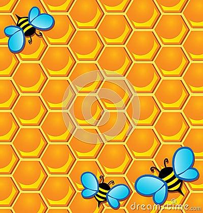 Bee theme image