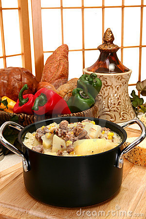 Free Beef And Potato Chowder Royalty Free Stock Photo - 5189775