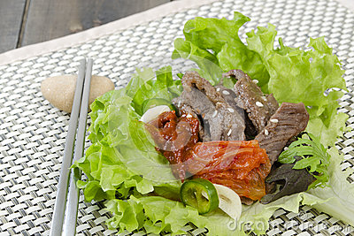 Beef Bulgogi Wrap