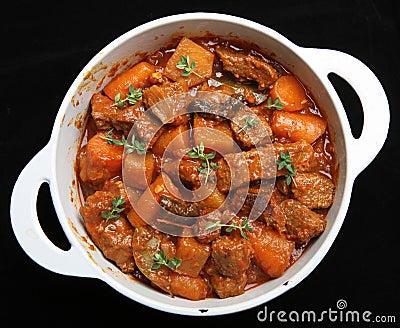 Beef Casserole Stew & Vegetables