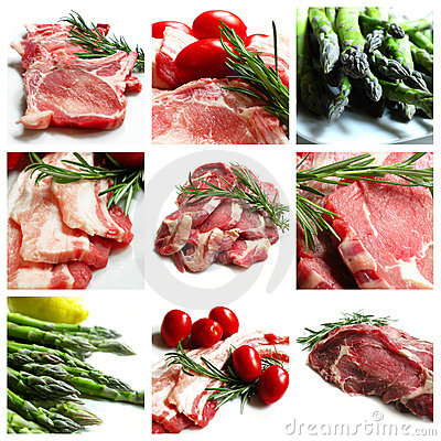Beef Collage