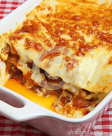 Beef Lasagna or Lasagne