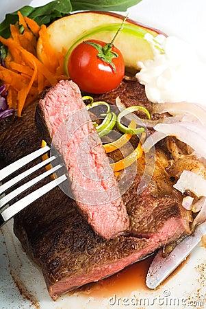 Free Beef Ribeye Steak Stock Photos - 10120073