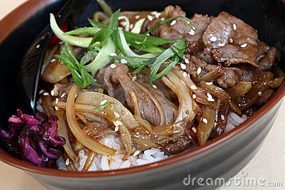 Beef Rice