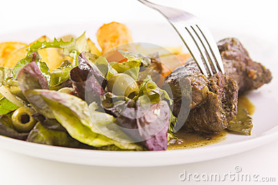 Beef roulade