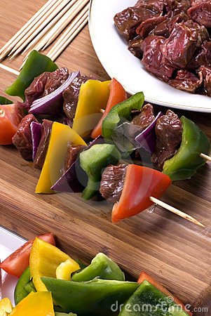 Beef Shishkabobs 1