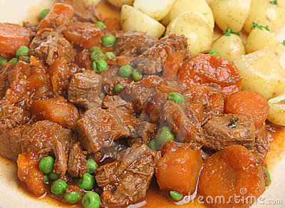 Beef Stew with New Potatoes
