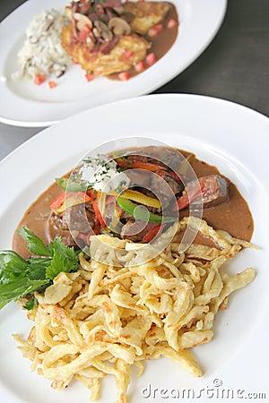 Beef Stroganoff or Beef-Stroganov
