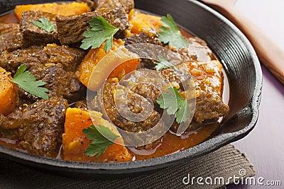 Beef Tagine with Sweet Potato