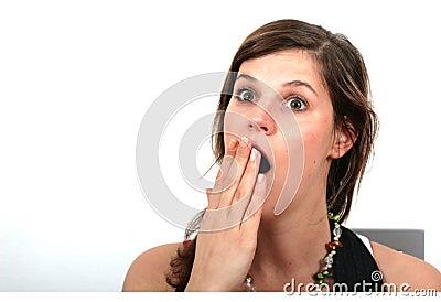 Beeing Surprised Or Yawning