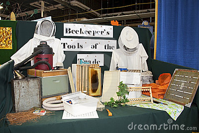 Beekeeping Tools Editorial Image