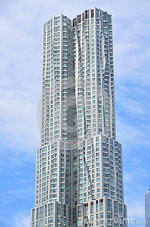 Beekman Tower by Frank Gehry Editorial Stock Image
