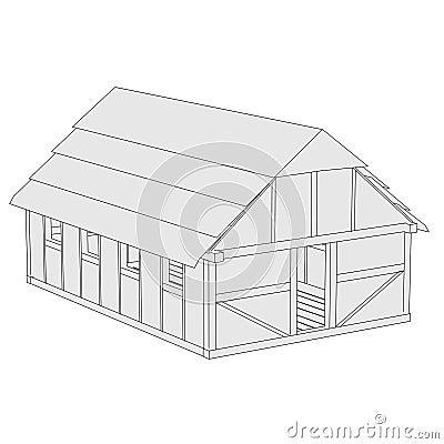 Beeld van middeleeuws huis royalty vrije stock foto 39 s afbeelding 37048478 - Beeld van eigentijds huis ...