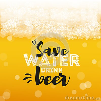 Free Beer Background With Text Stock Photography - 100339852