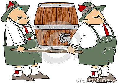 Beer Barrel Carriers