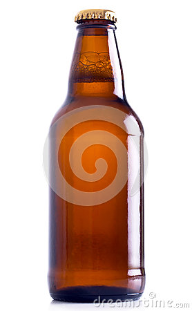 Free Beer Bottle Royalty Free Stock Photo - 26983475