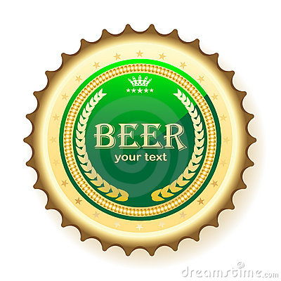 Beer, bottle cap