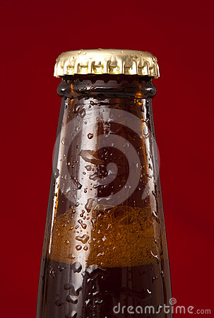 Beer bottle detail