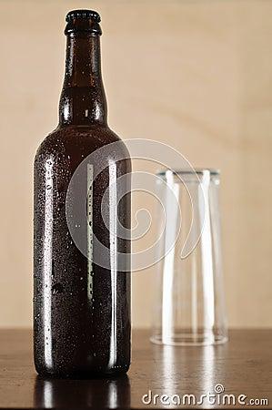 Beer bottle - Sweating.