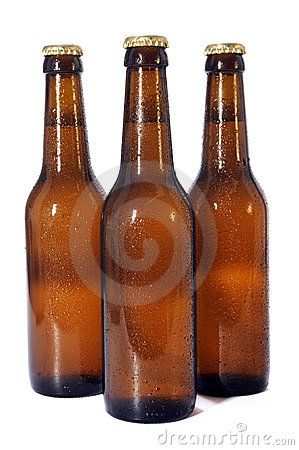 Free Beer Bottles Royalty Free Stock Photos - 15400648
