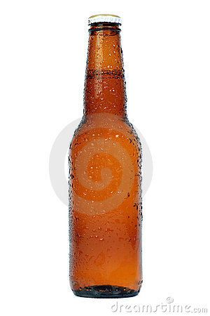 Free Beer Brown Bottle Royalty Free Stock Photography - 2525747