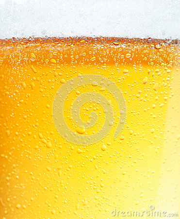 Beer with Bubbles.