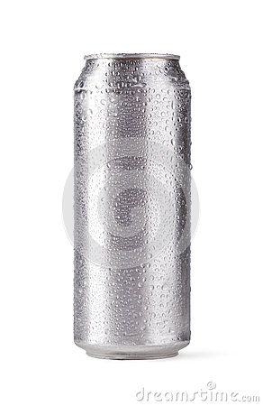 Free Beer Can Royalty Free Stock Photo - 26348715