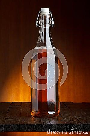 Beer or cider bottle