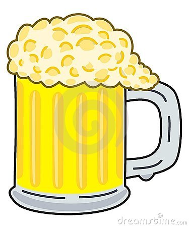 beer glass clipart. BEER CLIPART (click image to