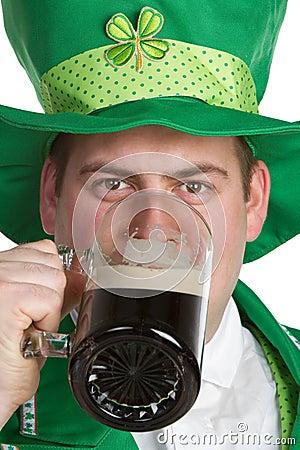 Beer Drinking Man