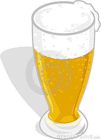 Free Beer Glass Royalty Free Stock Photo - 1534985
