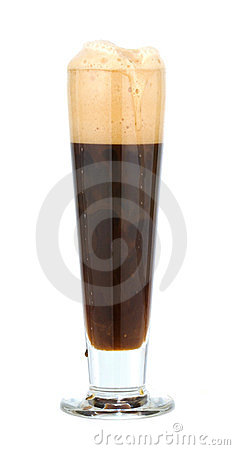 Beer in a glass (stout)