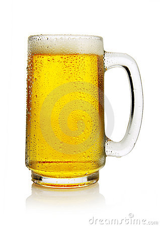Free Beer In Mug Stock Photo - 8347700