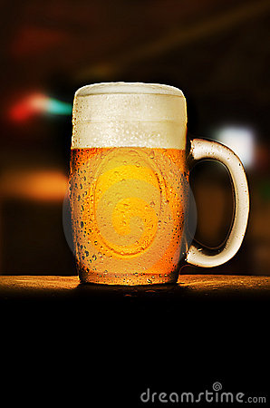 Free Beer In The Bar Stock Photos - 15862463