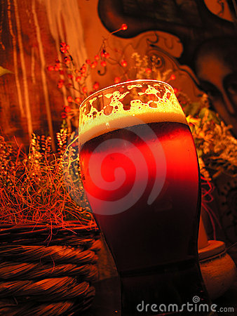 Free Beer In The Pub Royalty Free Stock Photos - 1594688