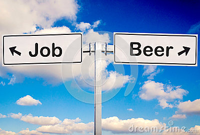 Beer or job